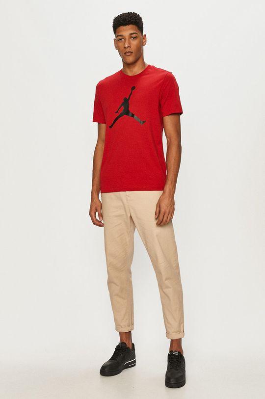 Jordan - T-shirt czerwony