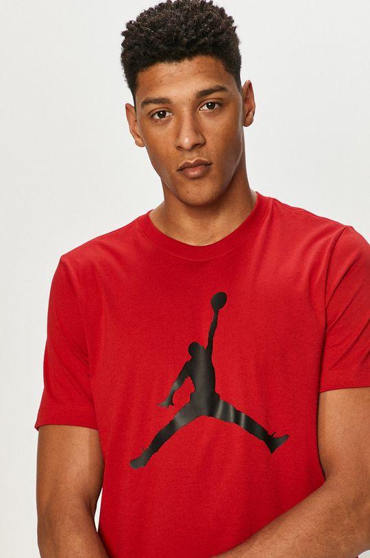 czerwony Jordan - T-shirt