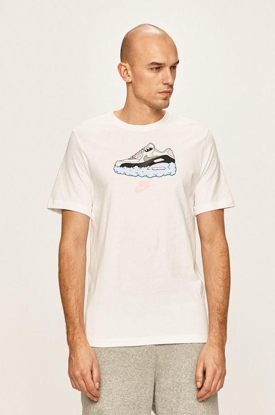 bílá Nike Sportswear - Tričko Pánský
