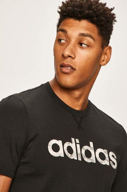 černá adidas - Tričko