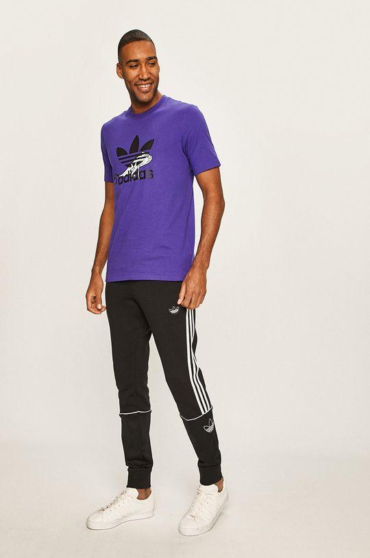 adidas Originals - T-shirt fioletowy