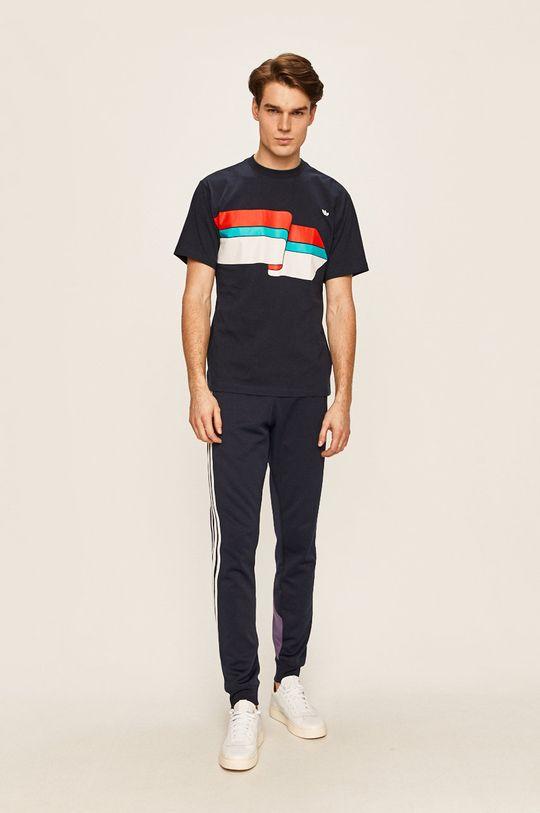 adidas Originals - Pánske tričko tmavomodrá