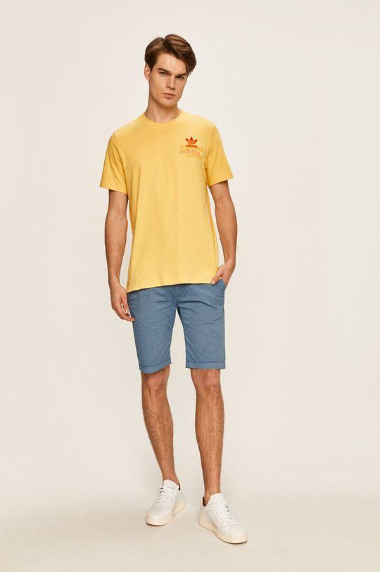 adidas Originals - Pánske tričko žltá