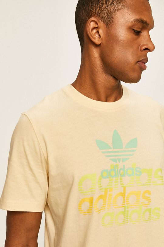 žlutá adidas Originals - Tričko