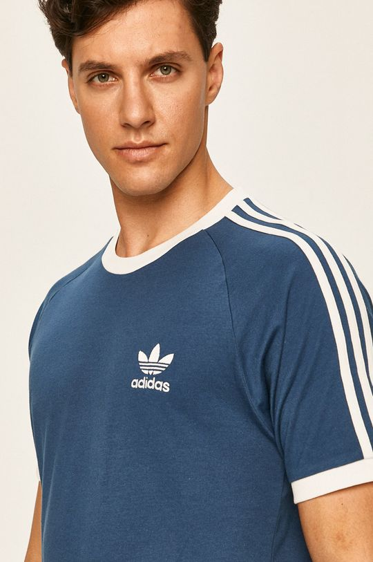 ocelová modrá adidas Originals - Tričko