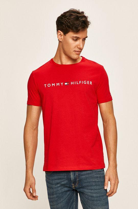 červená Tommy Hilfiger - Pánske tričko Pánsky