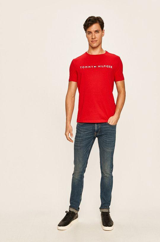 Tommy Hilfiger - Pánske tričko červená