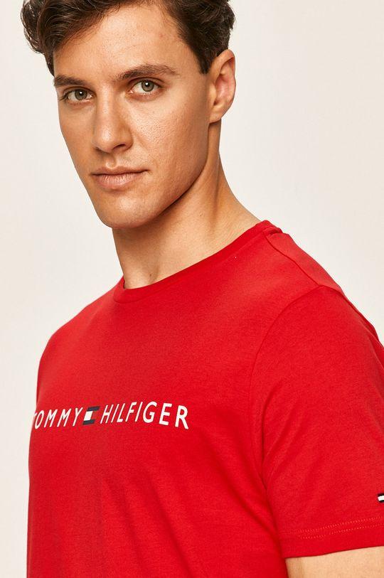 červená Tommy Hilfiger - Pánske tričko
