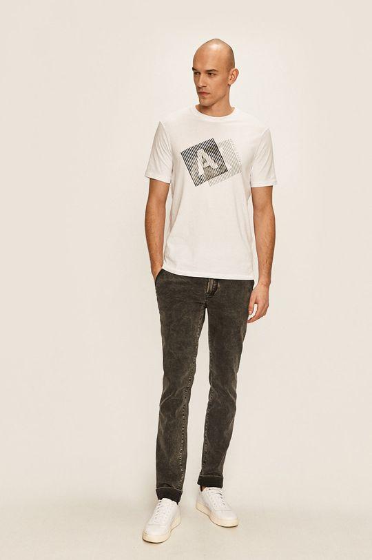 Armani Exchange - Тениска бял