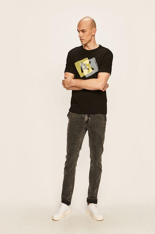 Armani Exchange - Тениска черен