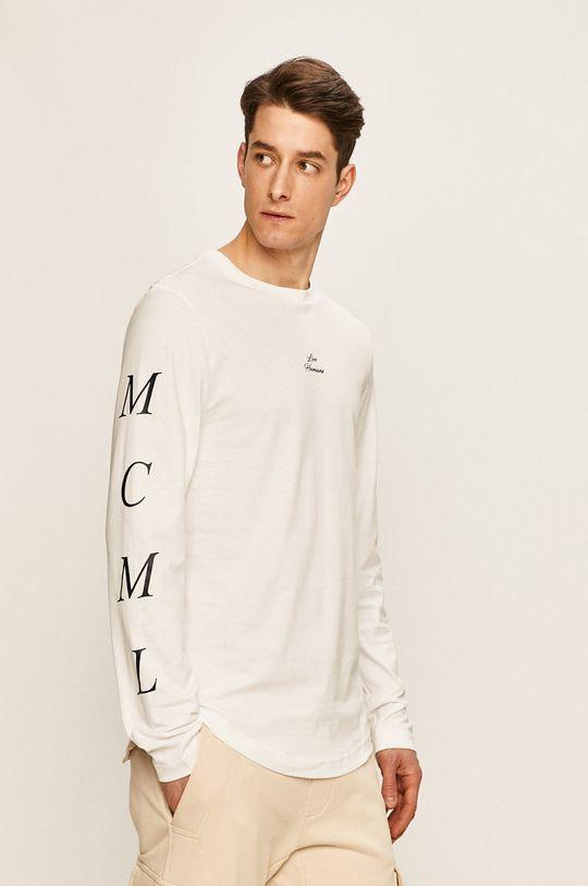 biela Tommy Hilfiger - Pánske tričko s dlhým rukávom x Lewis Hamilton Pánsky
