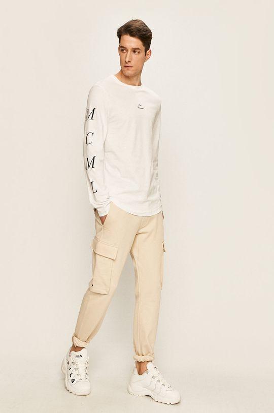 Tommy Hilfiger - Pánske tričko s dlhým rukávom x Lewis Hamilton biela