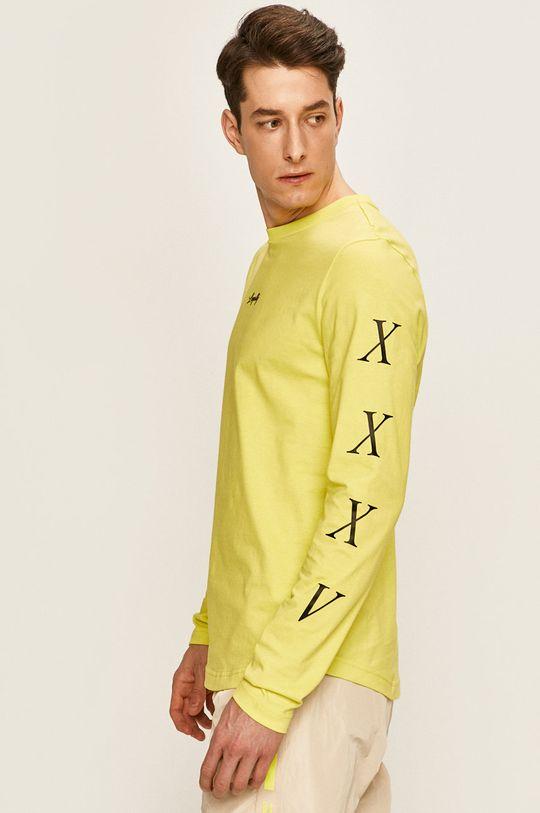 žltá Tommy Hilfiger - Pánske tričko s dlhým rukávom x Lewis Hamilton Pánsky