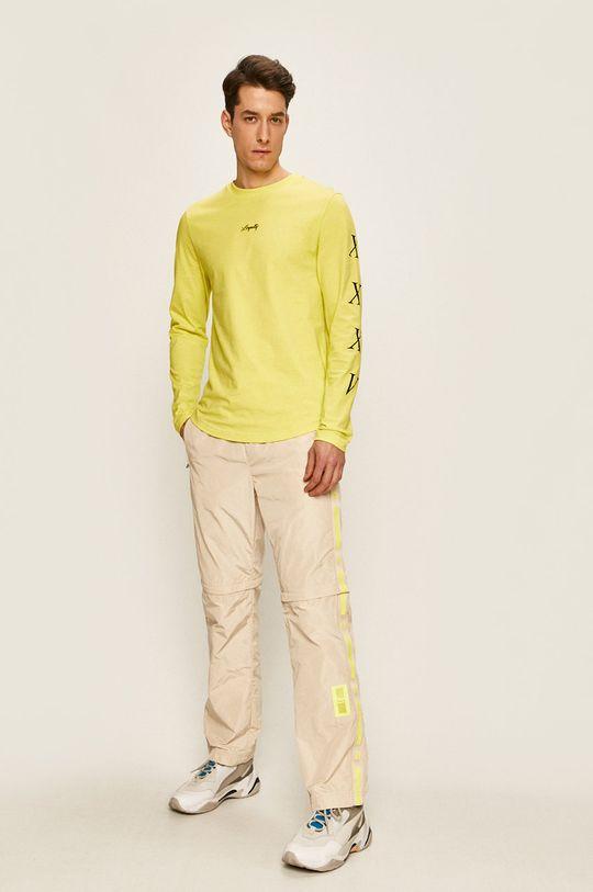 Tommy Hilfiger - Pánske tričko s dlhým rukávom x Lewis Hamilton žltá