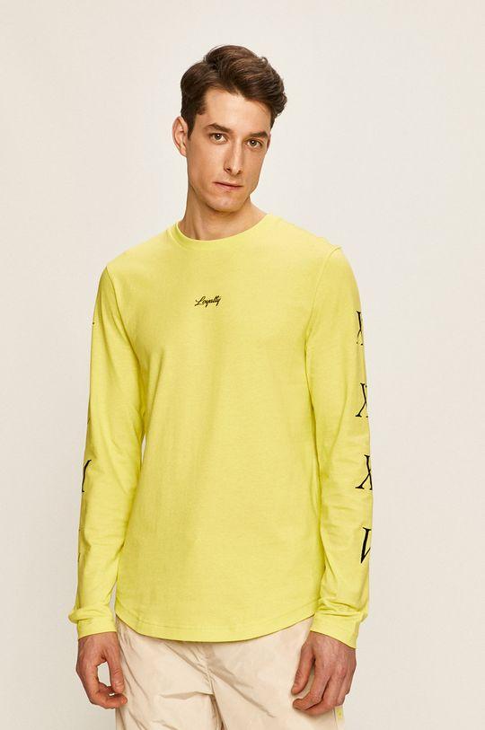 žltá Tommy Hilfiger - Pánske tričko s dlhým rukávom x Lewis Hamilton