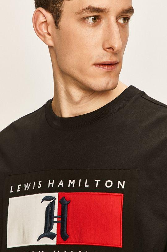 Tommy Hilfiger - Pánske tričko x Lewis Hamilton Pánsky