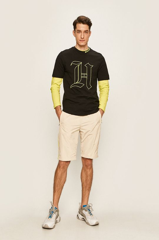Tommy Hilfiger - Pánske tričko X Lewis Hamilton čierna