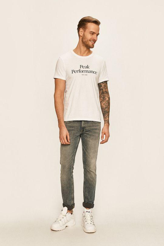 Peak Performance - Tričko bílá