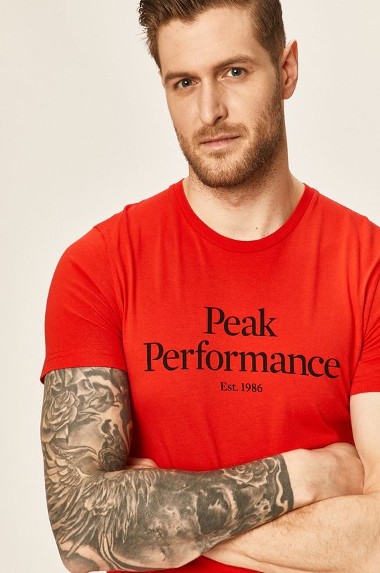 červená Peak Performance - Tričko