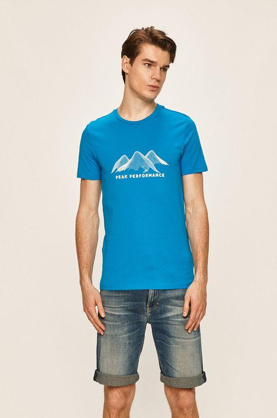 fialová Peak Performance - Tričko Pánský