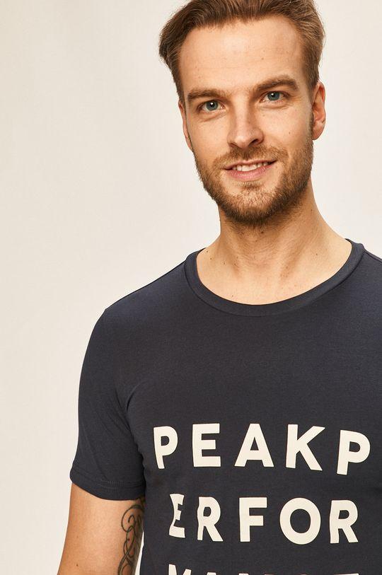 ocelová modrá Peak Performance - Tričko