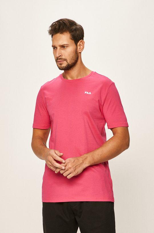ostry różowy Fila - T-shirt