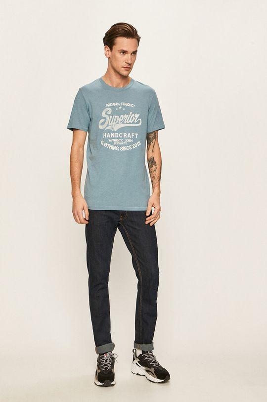 Produkt by Jack & Jones - Pánske tričko fialová