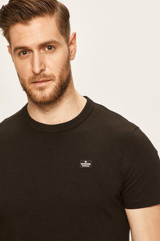 čierna Tom Tailor Denim - Pánske tričko