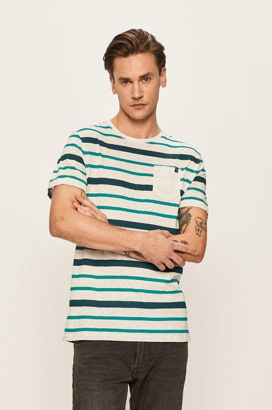 viacfarebná Tom Tailor Denim - Pánske tričko Pánsky