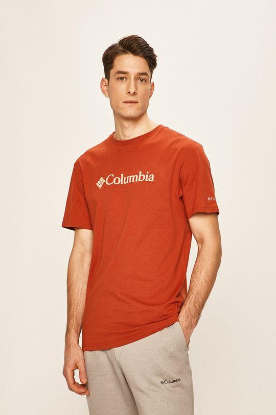 červená Columbia - Tričko Pánský