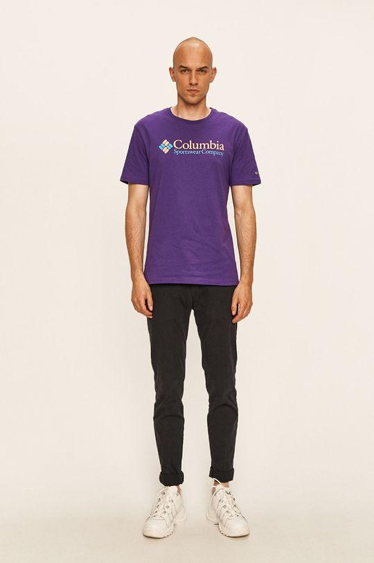 Columbia - Tričko purpurová