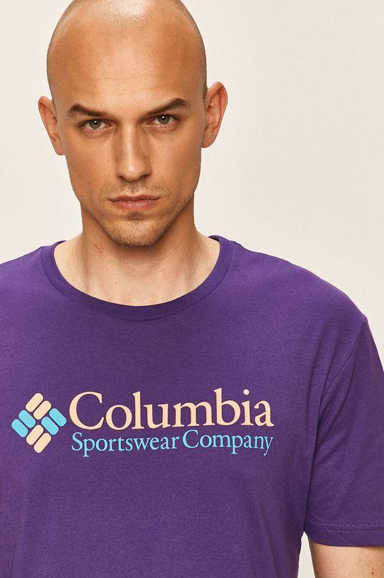 purpurová Columbia - Tričko