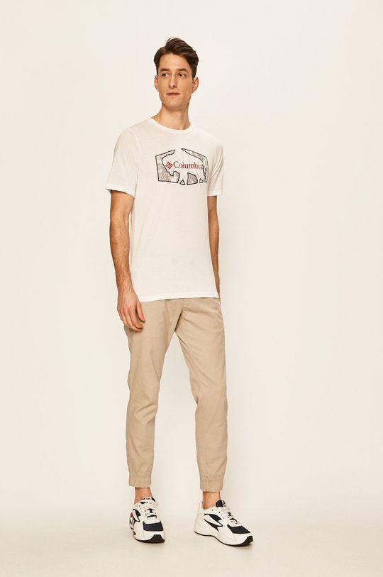 Columbia - Tričko bílá