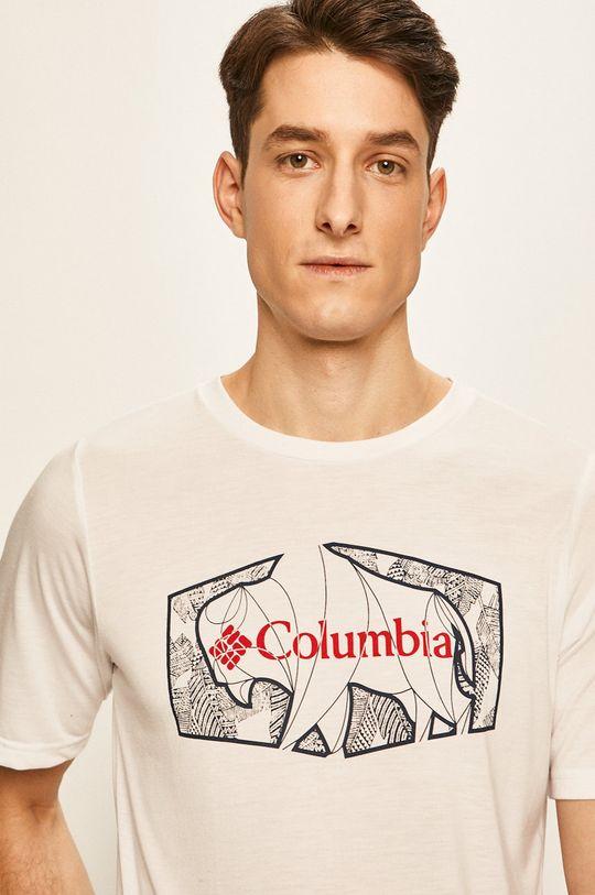 bílá Columbia - Tričko