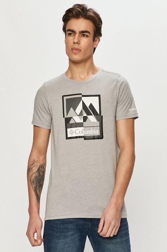 szary Columbia - T-shirt Męski