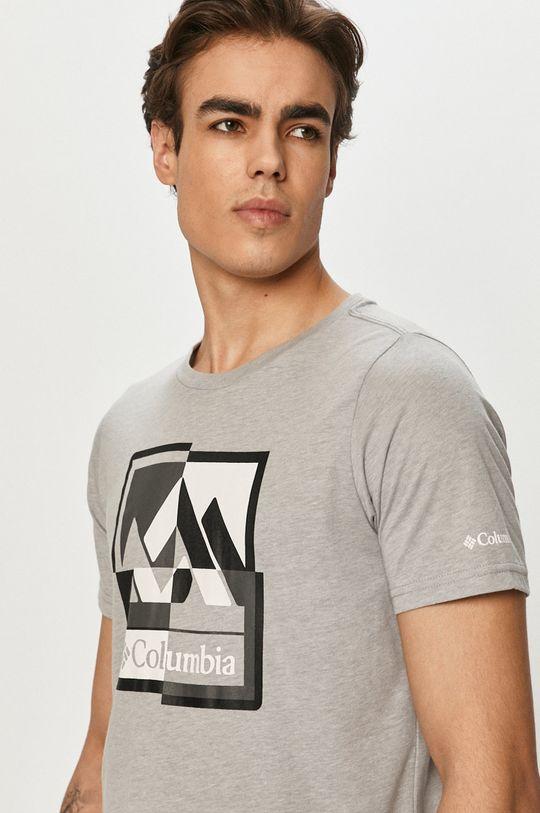 szary Columbia - T-shirt