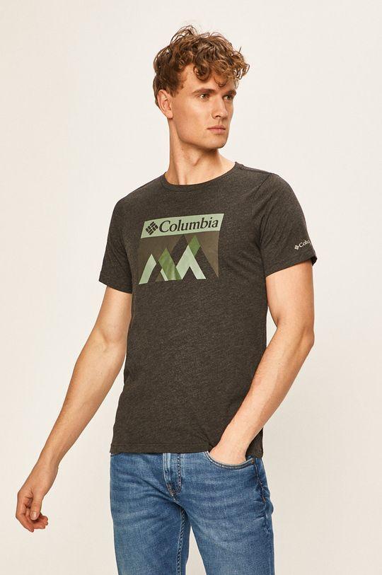 grafitová Columbia - Pánske tričko Pánsky