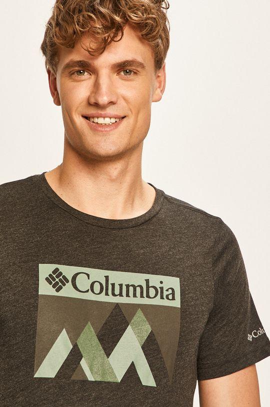 grafitová Columbia - Pánske tričko