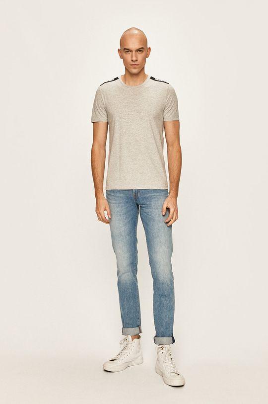 Moschino Underwear - Pánske tričko sivá