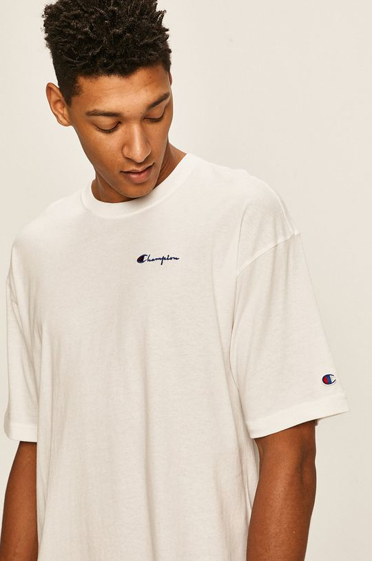 biały Champion - T-shirt Męski