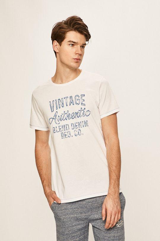 biela Blend - Pánske tričko Pánsky