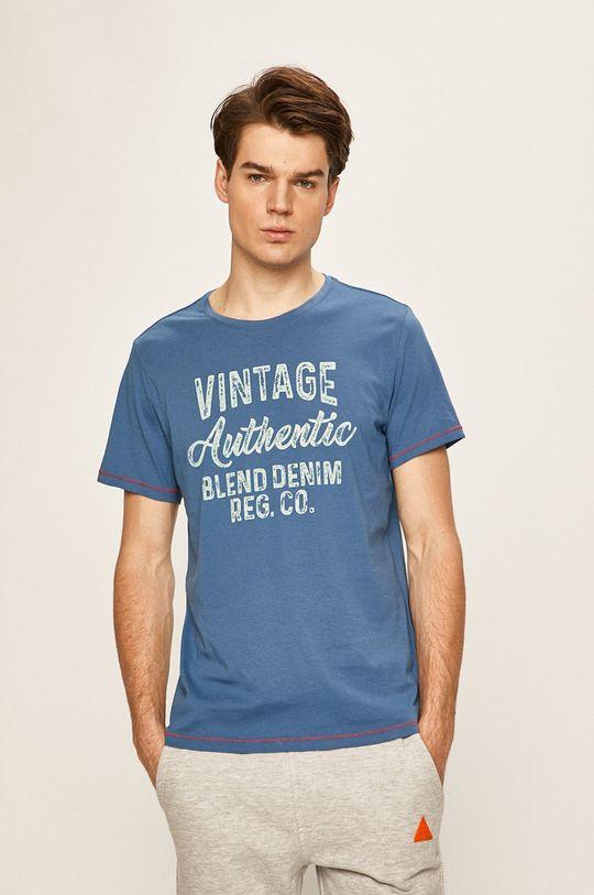 modrá Blend - Pánske tričko Pánsky