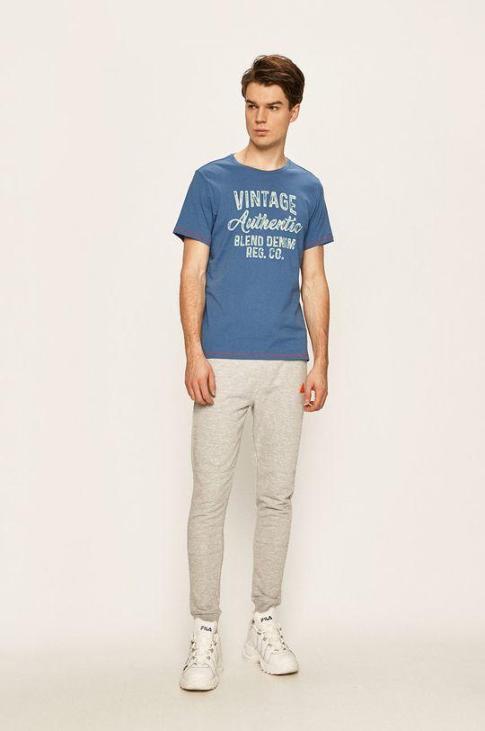 Blend - Pánske tričko modrá