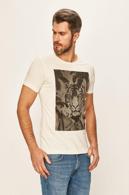 бял Blend - Тениска Чоловічий