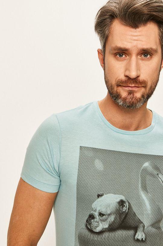 светлосин Blend - Тениска