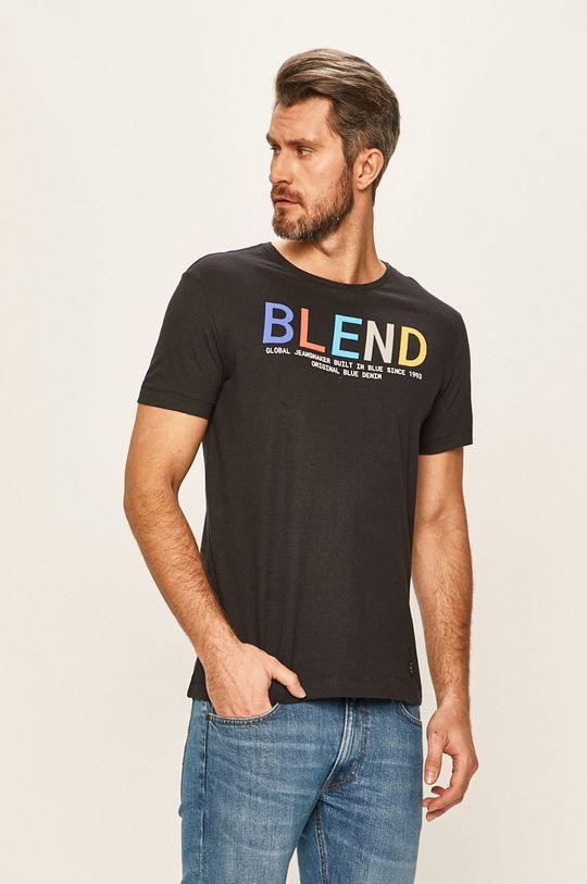 тъмносин Blend - Тениска Чоловічий
