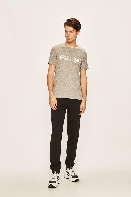 Hummel - Tričko světle šedá