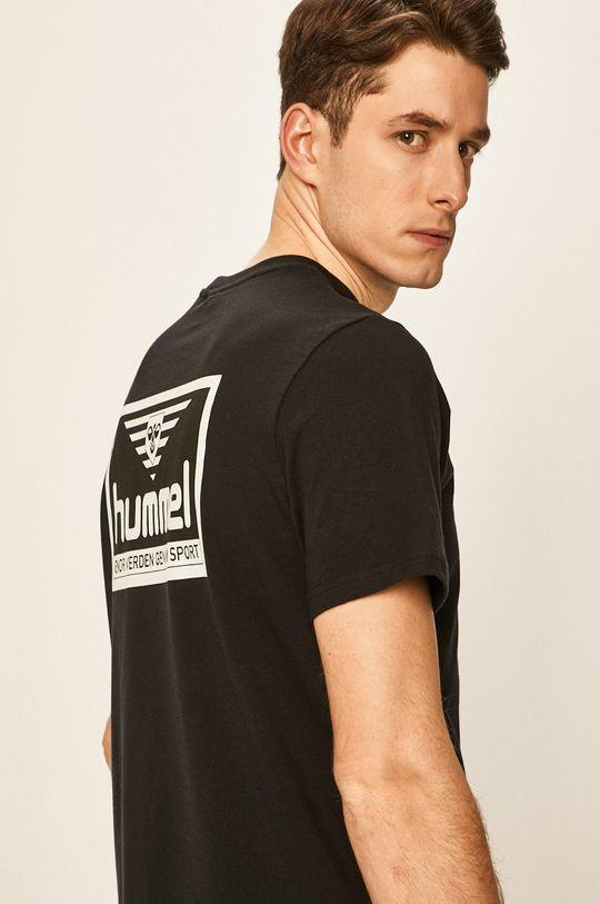 negru Hummel - Tricou De bărbați