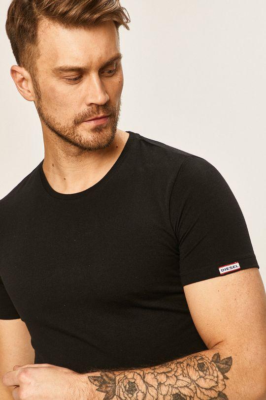 čierna Diesel - Pánske tričko