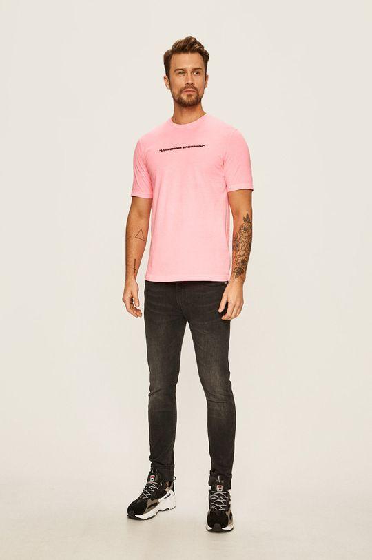 Diesel - Tričko pastelově růžová